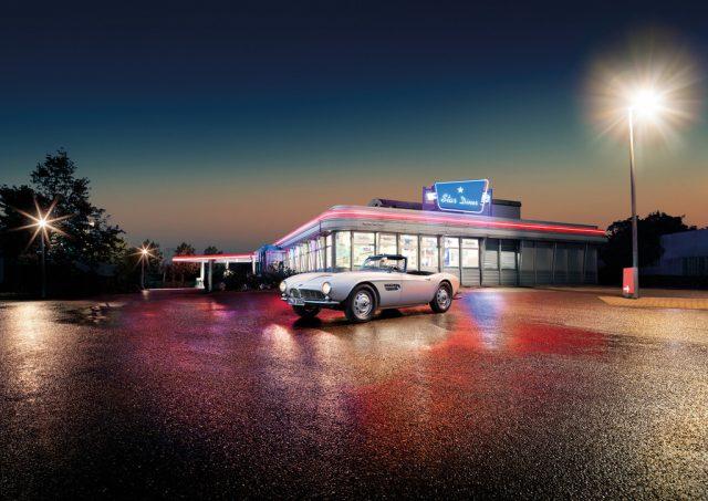 Wieder fertig zum Einsteigen: BMW 507, wie der von Elvis Presley. Foto: BMW