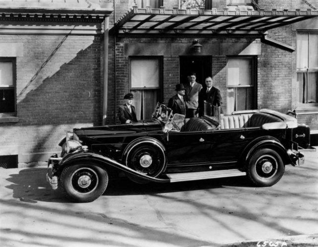 Franklin D. Roosevelt fuhr einen Packard Phaeton von 1932 Foto: New York State Museum
