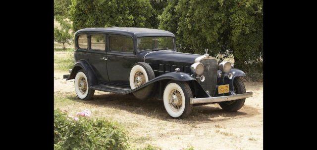 Herbert Hoover fuhr einen Cadillac V16 von 1932 Foto: Bonhams