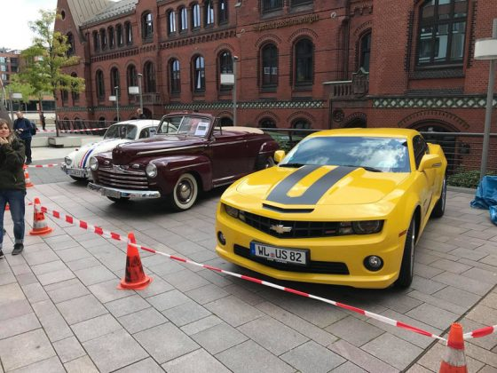 v.l.n.r.: Herby, Biffs Ford und Bumblebee