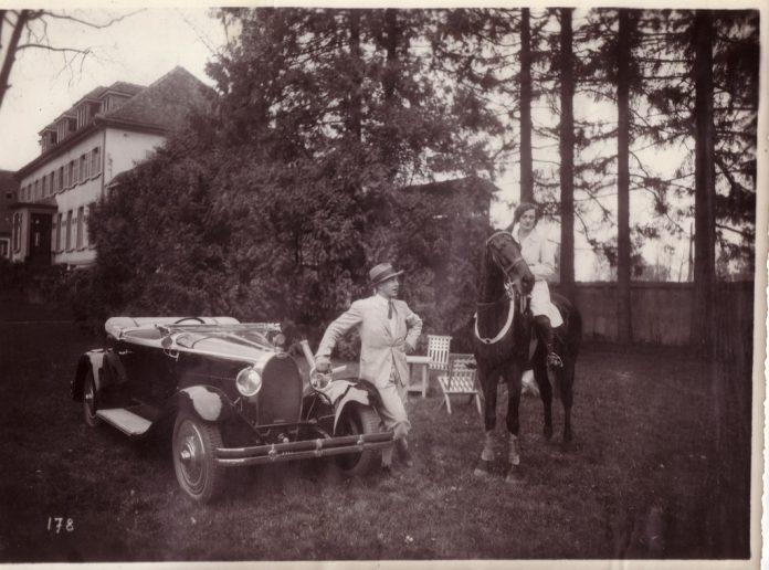 Jean Bugatti: Mein Auto, meine Frau, mein Pferd, meine Villa. Foto: Auto-Medienportal.Net/Bugatti