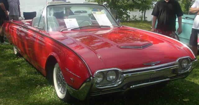 John F. Kennedy fuhr einen Ford Thunderbird von 1961 Foto: Wikipedia
