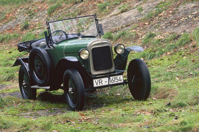 Opel Laubfrosch (1924) Foto: Auto-Medienportal.Net/Opel