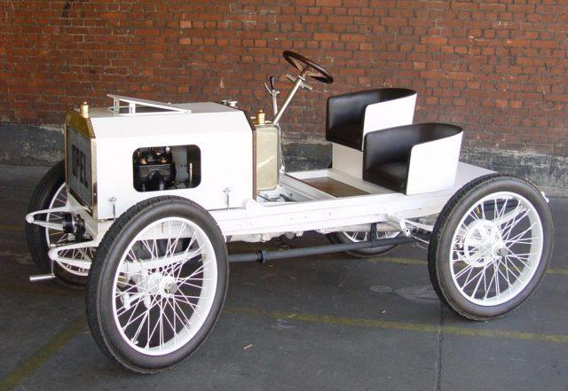 Opel-Rennwagen (1903) Foto: Auto-Medienportal.Net/Opel