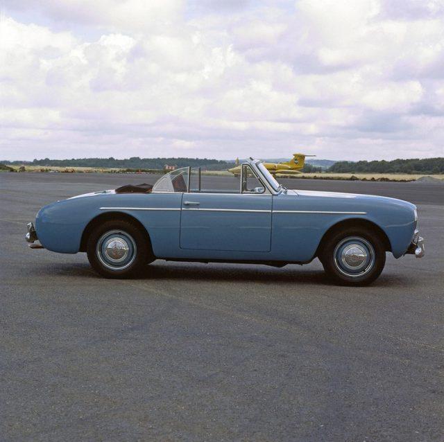 Volvo Sport P 1900 (1956–1957) Foto: Auto-Medienportal.Net/Volvo