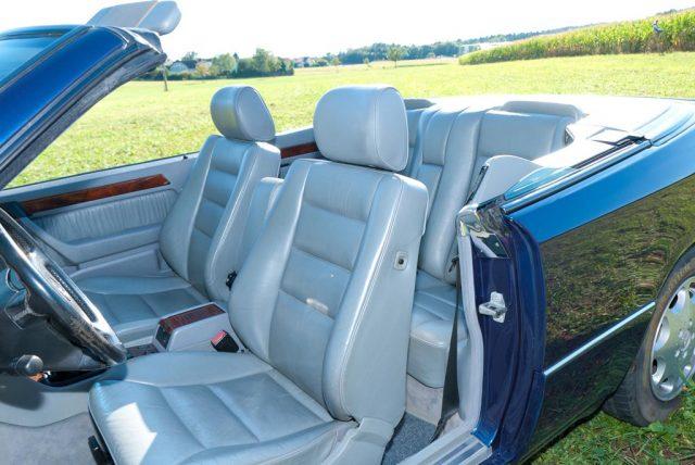 Edles Leder im 124er Cabrio