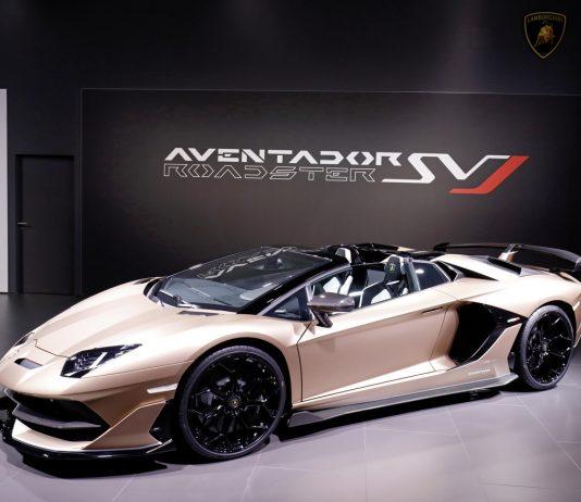 Lamborghini Aventador SVJ Roadster Bilder: media.lamborghini.com