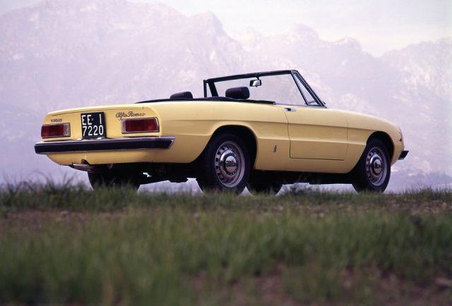 Alfa Romeo 1750 Spider Veloce (1969). Foto: Auto-Medienportal.Net/FCA