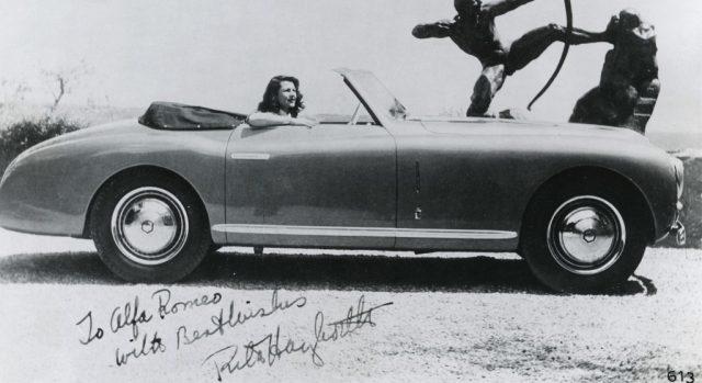 Alfa Romeo 6C 2500 SS: Danksagung von Rita Hayworth (1947) Foto: Auto-Medienportal.Net/FCA