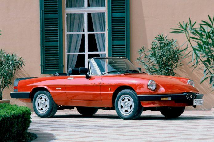 Alfa Romeo Spider, 1983 bis 1989. Foto: Auto-Medienportal.Net/Alfa Romeo