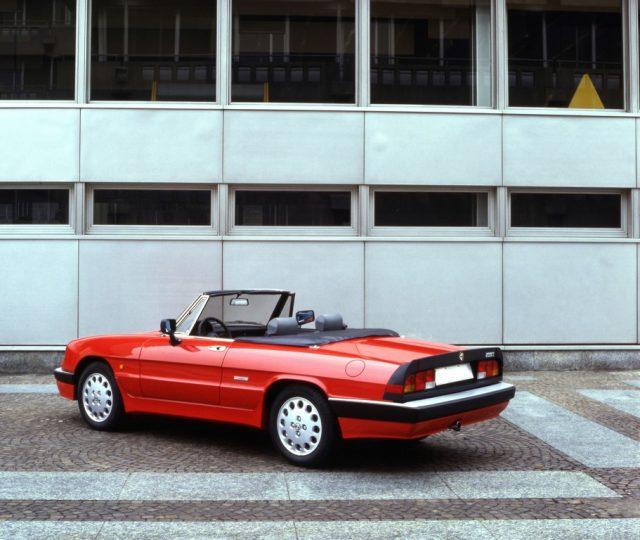 Alfa Romeo Spider 2.0i Quadrifoglio Verde (1989). Foto: Auto-Medienportal.Net/FCA