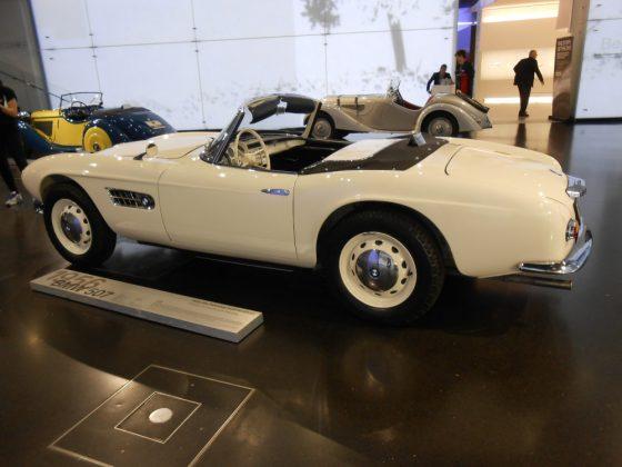 BMW-Museum München Cabrios Foto: Edi Kranabetter