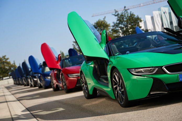 Die letzten BMW i8 Roadster. Foto: Auto-Medienportal.Net/BMW