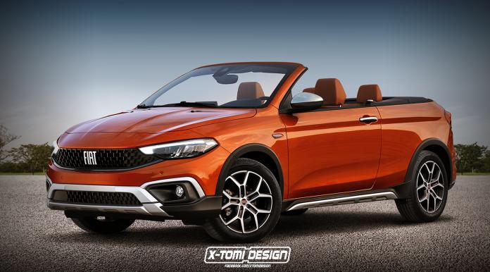 Rendering: Fiat Tipo Cross Cabrio