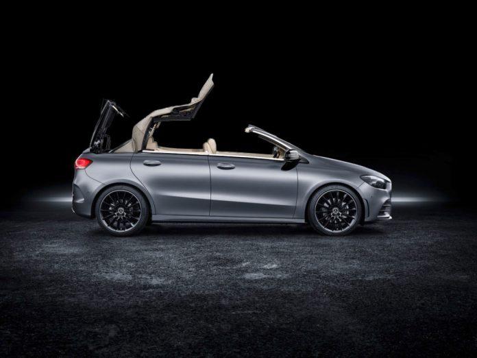 Mercedes-Benz B-Klasse-Cabrio.