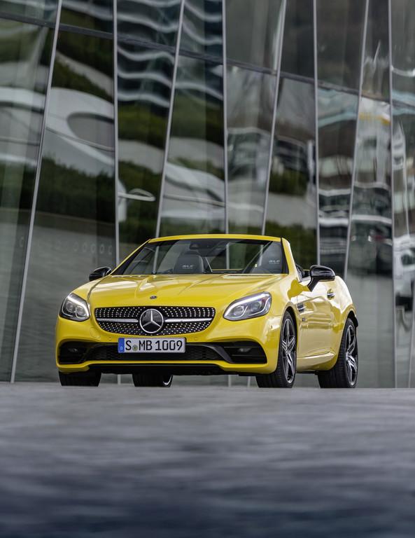 Mercedes-Benz SLC. Foto: Auto-Medienportal.Net/Daimler