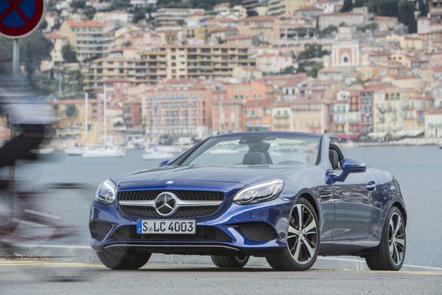 Mercedes-Benz SLC 300 Foto: Daimler