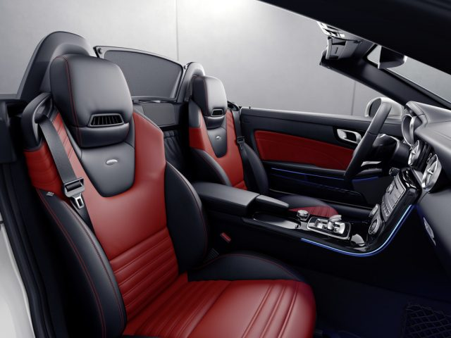 Mercedes-Benz SLC Red Art Edition Foto: Auto-Medienportal.Net/Daimler