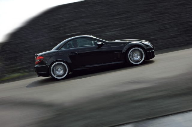 Mercedes-Benz SLK 55 Black Series (2006). Foto: Auto-Medienportal.Net/Daimler