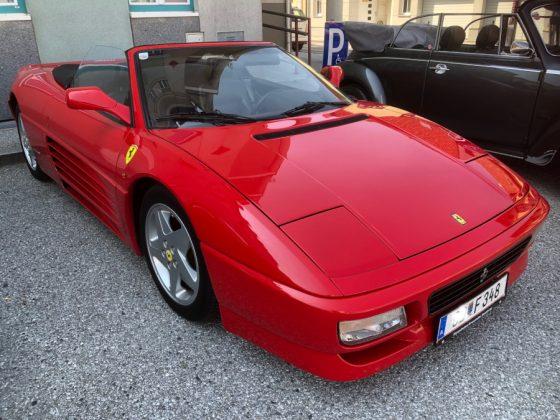 Oldtimer und Sportwagentreffen Waidhofen/Thaya 2019 Ferrari 348 Spider Foto: Edi Kranabetter