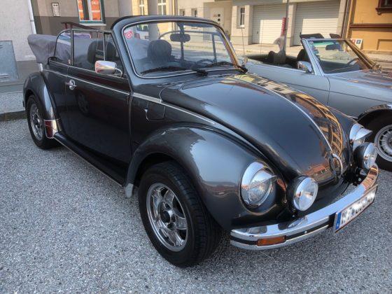 Oldtimer und Sportwagentreffen Waidhofen/Thaya 2019 VW Käfer Cabrio Foto: Edi Kranabetter