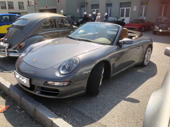 Oldtimer und Sportwagentreffen Waidhofen/Thaya 2019 Porsche 911 Cabrio Foto: Edi Kranabetter
