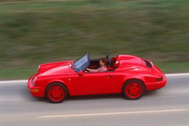 Porsche 911 Carrera 3,2 Speedster (1986). Foto: Auto-Medienportal.Net/Porsche