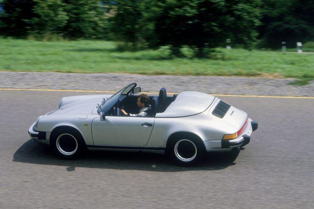Porsche 911 Carrera 3,2 Speedster mit schmaler Karosserie (1989). Foto: Auto-Medienportal.Net/Porsche