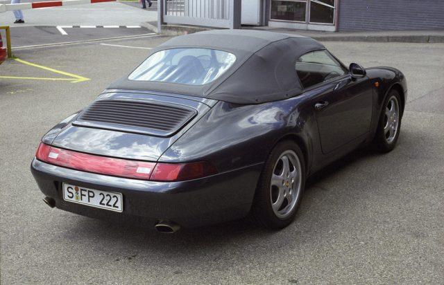 Porsche 911 Carrera 3,6 Speedster von Ferdinand Alexander Porsche (1995). Foto: Auto-Medienportal.Net/Porsche