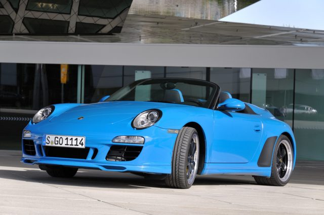 Porsche 911 Speedster (2011). Foto: Auto-Medienportal.Net/Porsche