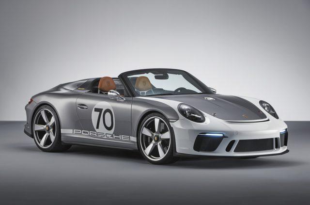 Porsche 911 Speedster Concept (2018). Foto: Auto-Medienportal.Net/Porsche