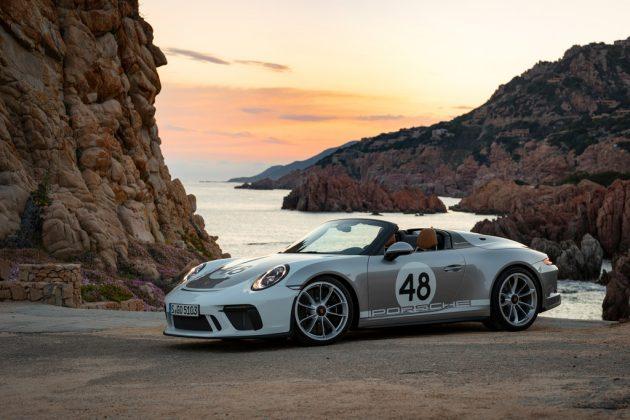 Porsche 911 Speedster mit Heritage-Design-Paket. Foto: Auto-Medienportal.Net/Porsche