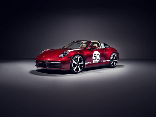 Porsche 911 Targa 4S Heritage Design Edition. Foto: Auto-Medienportal.Net/Porsche