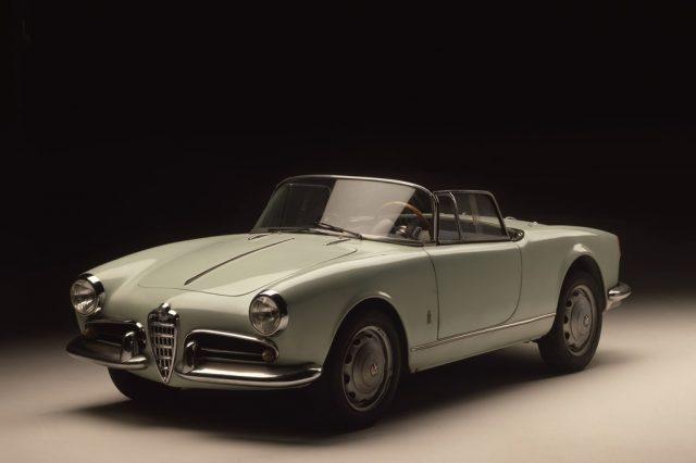 rototyp des Alfa Romeo Giulietta Spider (1955). Foto: Auto-Medienportal.Net/FCA
