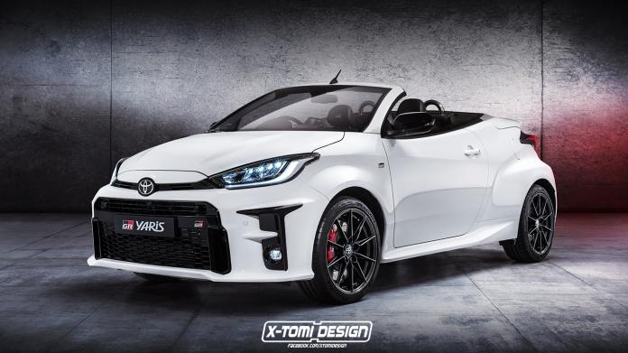 Rendering: Toyota GR Yaris Speedster