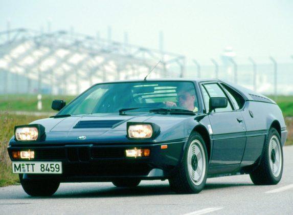 Schlafaugen waren mal modern: BMW M1 von 1978. Foto: Auto-Medienportal.Net/Prien