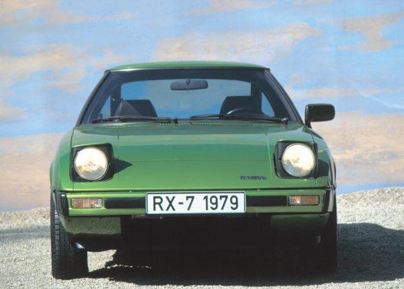 Schlafaugen waren mal modern: Mazda RX-7 von 1979. Foto: Auto-Medienportal.Net/Prien