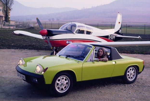 Schlafaugen waren mal modern: Porsche 914. Foto: Auto-Medienportal.Net/Prien