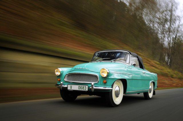 Skoda Felicia Cabrio (1961) Foto: Auto-Medienportal.Net/Škoda