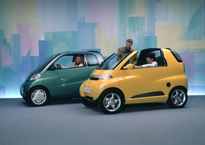 Smart Micro Car Foto: Auto-Medienportal.Net/Daimler