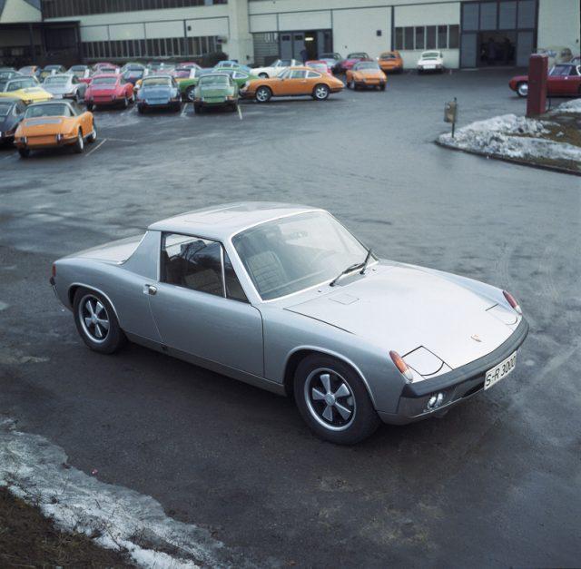 Porsche 914/8 (1969) im Werk 2 Foto: Auto-Medienportal.Net/Porsche