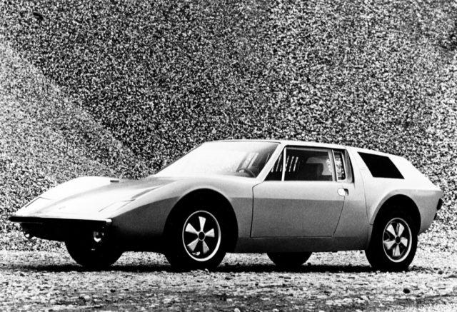 Entwurf eines VW-Porsche 914/6 von Albrecht Graf von Goertz (1970) Foto: Auto-Medienportal.Net/Porsche
