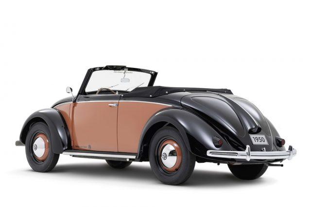 Volkswagen 1100 Cabriolet Hebmüller, 1950. Foto: Auto-Medienportal.Net/Volkswagen
