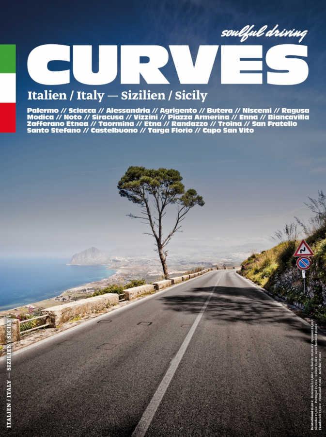 CURVES 7 Italien Sizilien Deckblatt Foto: Verlag: Delius Klasing